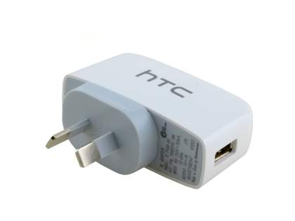Genuine HTC TC P450 Wall Power Adapter - White
