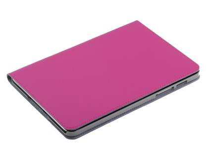 Premium Slim Genuine Leather Portfolio Case with Stand for Samsung Galaxy Tab S2 8.0 - Pink