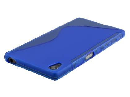 Wave Case for Sony Xperia Z5 - Frosted Blue/Blue