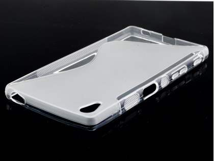 Wave Case for Sony Xperia Z5 - Frosted Clear/Clear