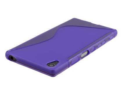 Wave Case for Sony Xperia Z5 - Frosted Purple/Purple