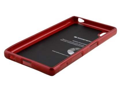 Mercury Glossy Gel Case for Sony Xperia Z5 - Red