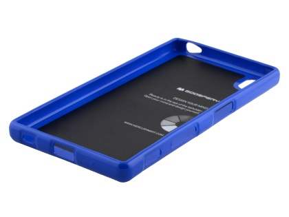 Mercury Goospery Glossy Gel Case for Sony Xperia Z5 - Blue