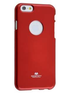 Mercury Goospery Glossy Gel Case for iPhone 6s/6 - Red
