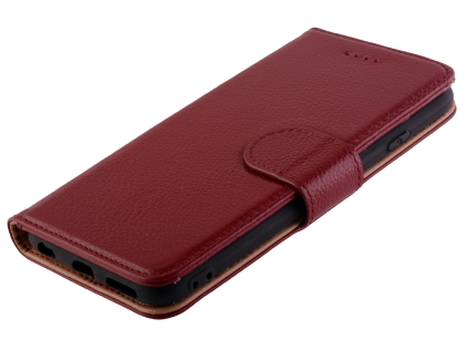 Premium Leather Wallet Case for iPhone 6s/6 4.7 inches - Rosewood