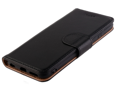 Premium Leather Wallet Case for iPhone 6s/6 - Classic Black