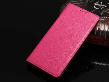 Premium Leather Wallet Case for Samsung Galaxy Note 5 - Pink