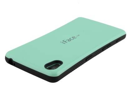 iFace Dual-Design Case for Sony Xperia Z5 - Mint/Black