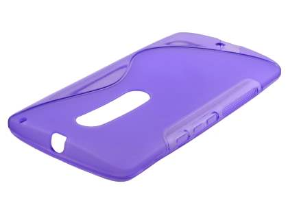 Wave Case for Motorola Moto X Style - Frosted Purple/Purple Soft Cover