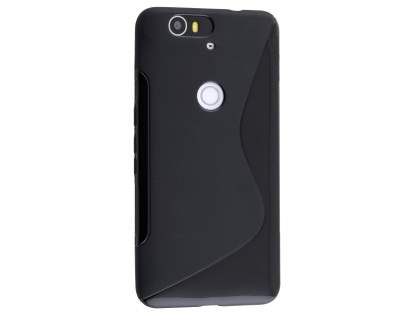 Wave Case for Huawei Nexus 6P - Frosted Black/Black Soft Cover