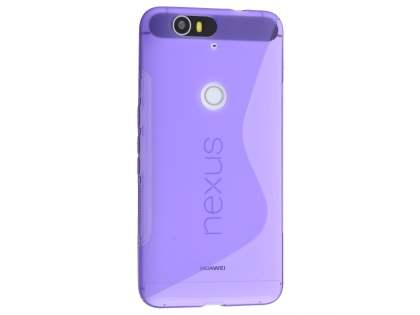 Wave Case for Huawei Nexus 6P - Frosted Purple/Purple Soft Cover