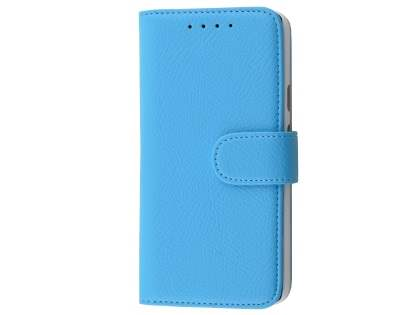 Slim Synthetic Leather Wallet Case with Stand for LG Nexus 5X - Sky Blue