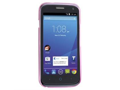 Frosted Colour TPU Case for ZTE Telstra 4GX Buzz - Pink
