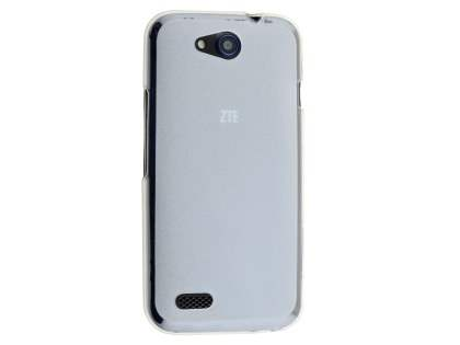 Frosted Colour TPU Case for ZTE Telstra 4GX Buzz - Clear Soft Cover