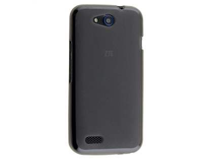 Frosted Colour TPU Gel Case for ZTE FIT 4G Smart - Grey Soft Cover