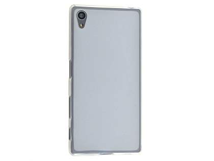 Frosted TPU Case for Sony Xperia Z5 - Clear Soft Cover