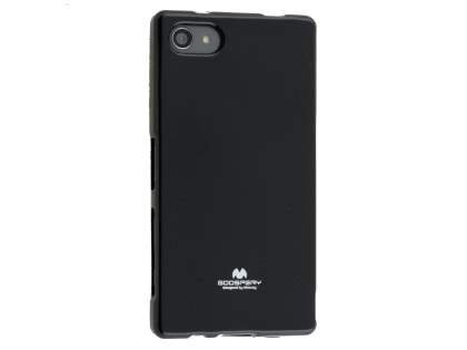 Mercury Glossy Gel Case for Sony Xperia Z5 Compact - Black