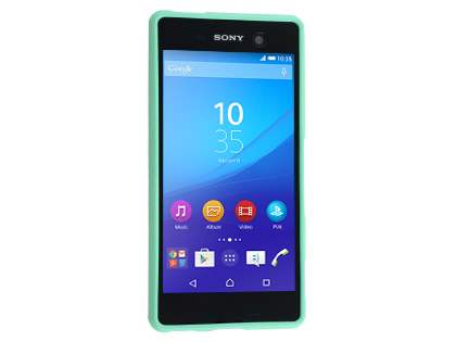 Mercury Glossy Gel Case for Sony Xperia M5 - Mint Green