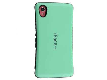 iFace Dual-Design Case for Sony Xperia M4 Aqua - Mint/Black Dual-Design Case