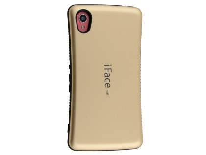 iFace Dual-Design Case for Sony Xperia M4 Aqua - Gold/Black