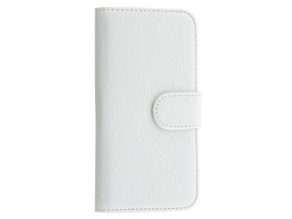 Synthetic Leather Wallet Case with Stand for iPhone 6s/6 - Pearl White