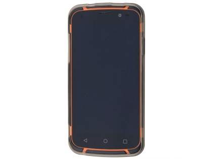 Frosted TPU Case for Telstra Tough Max - T84 - Grey