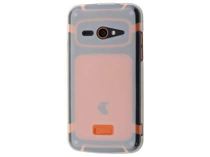 Frosted TPU Case for Telstra Tough Max - T84 - Clear Soft Cover