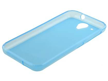 Frosted Colour TPU Case for HTC Desire 520 - Blue