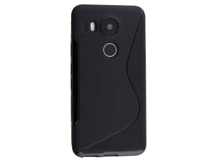 Wave Case for LG Nexus 5X - Frosted Black/Black Soft Cover