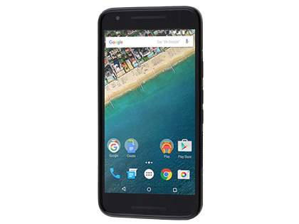 Wave Case for LG Nexus 5X - Frosted Black/Black