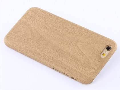 Wood Pattern Soft TPU Case for iPhone 6s Plus / 6 Plus - Oak