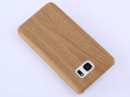 Wood Pattern Soft TPU Case for Samsung Galaxy Note 5 - Oak