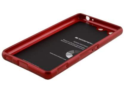 Mercury Glossy Gel Case for Sony Xperia M5 - Red