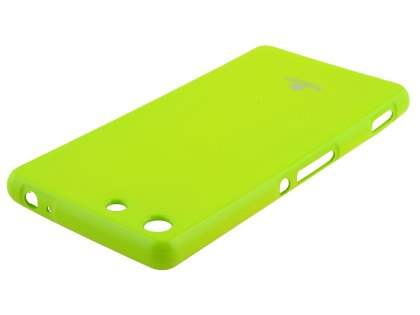 Mercury Glossy Gel Case for Sony Xperia M5 - Lime Green