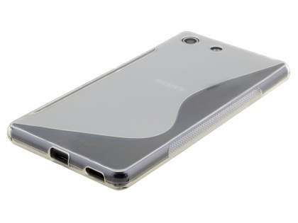 Wave Case for Sony Xperia M5 - Frosted Clear/Clear
