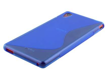 Sony Xperia M4 Aqua Wave Case - Frosted Blue/Blue