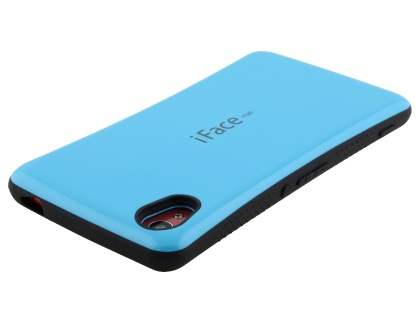 iFace Dual-Design Case for Sony Xperia M4 Aqua - Sky Blue/Black