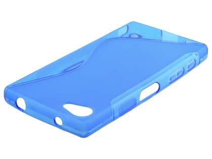 Wave Case for Sony Xperia Z5 Compact - Frosted Blue/Blue
