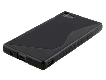 Wave Case for Sony Xperia Z5 Compact - Frosted Black/Black