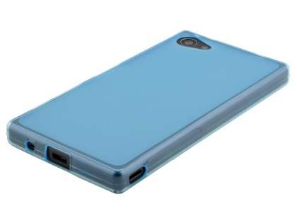 Frosted TPU Case for Sony Xperia Z5 Compact - Blue