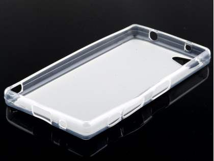 Frosted TPU Case for Sony Xperia Z5 Compact - Clear