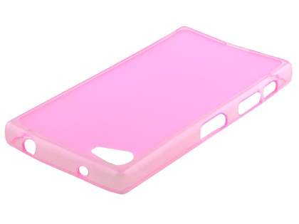 Frosted TPU Case for Sony Xperia Z5 Compact - Pink