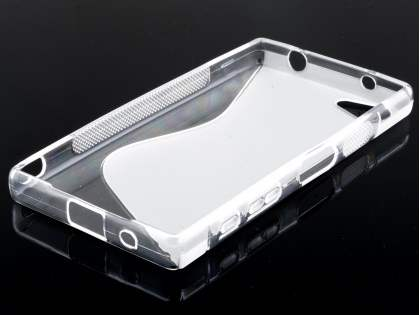 Wave Case for Sony Xperia Z5 Compact - Frosted Clear/Clear