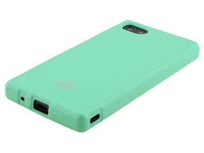 Mercury Glossy Gel Case for Sony Xperia Z5 Compact - Mint Green