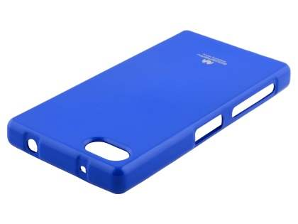 Mercury Glossy Gel Case for Sony Xperia Z5 Compact - Blue