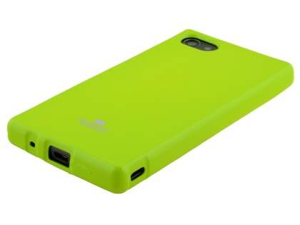 Mercury Glossy Gel Case for Sony Xperia Z5 Compact - Lime Green