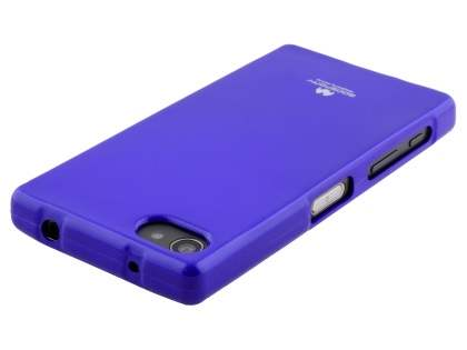 Mercury Glossy Gel Case for Sony Xperia Z5 Compact - Purple