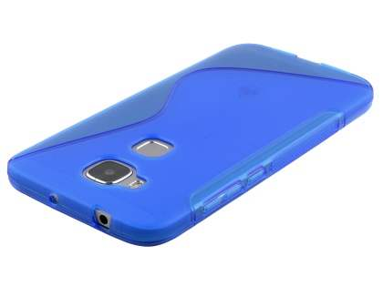 Wave Case for Huawei G8 - Frosted Blue/Blue