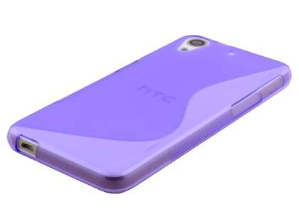 Wave Case for HTC Desire 626 - Frosted Purple/Purple
