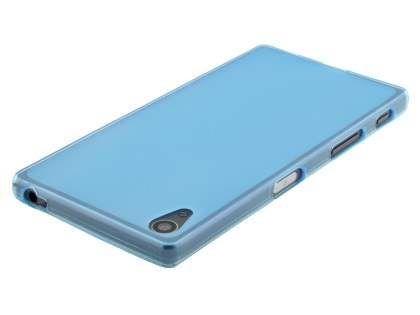 Frosted TPU Case for Sony Xperia Z5 - Blue